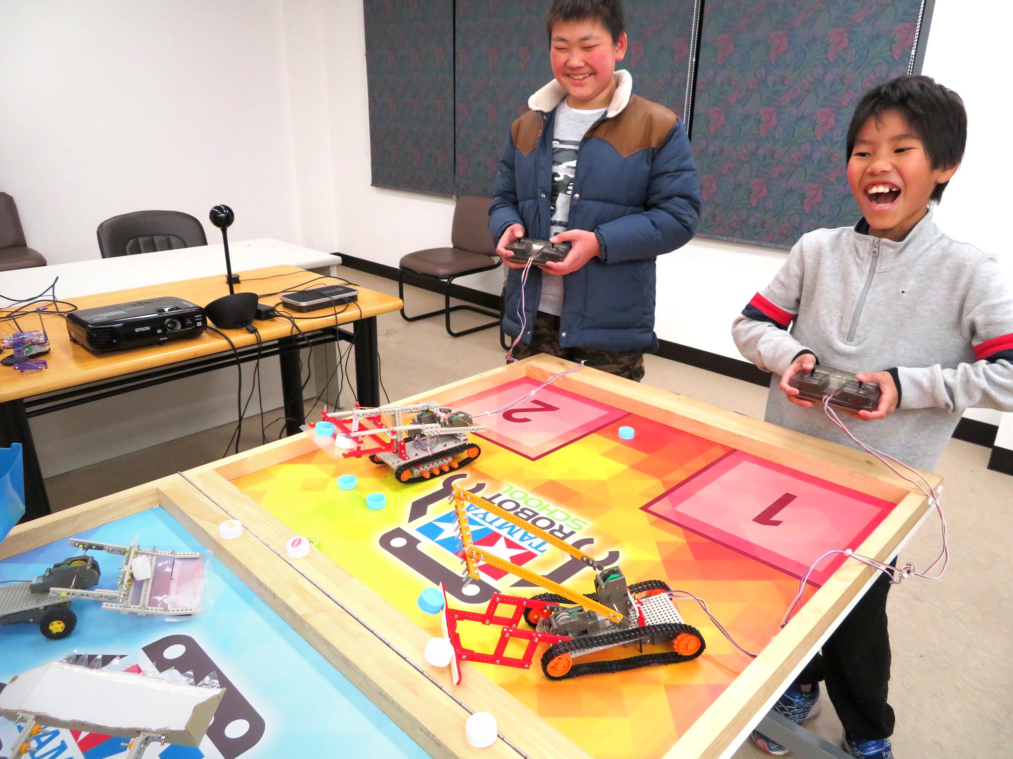 群馬県で初めてのタミヤロボットスクール!前橋教室が10月3日から開校